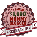 1st Annual $1000 Mom Blogger Scholarship for Aspiring and Existing Bloggers