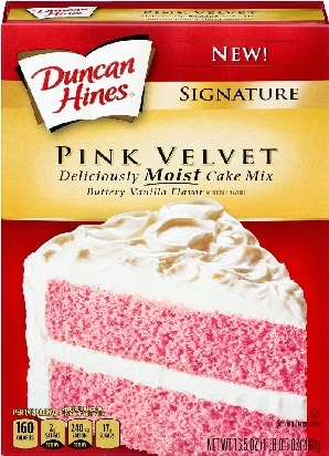 Duncan Hines Pink Velvet Cake Mix Recipes