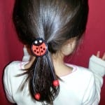 EZ Tails Makes Ponytails Easy and Painless in Just Two Steps