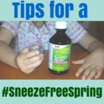Tips for a #SneezeFreeSpring from CVS MinuteClinic