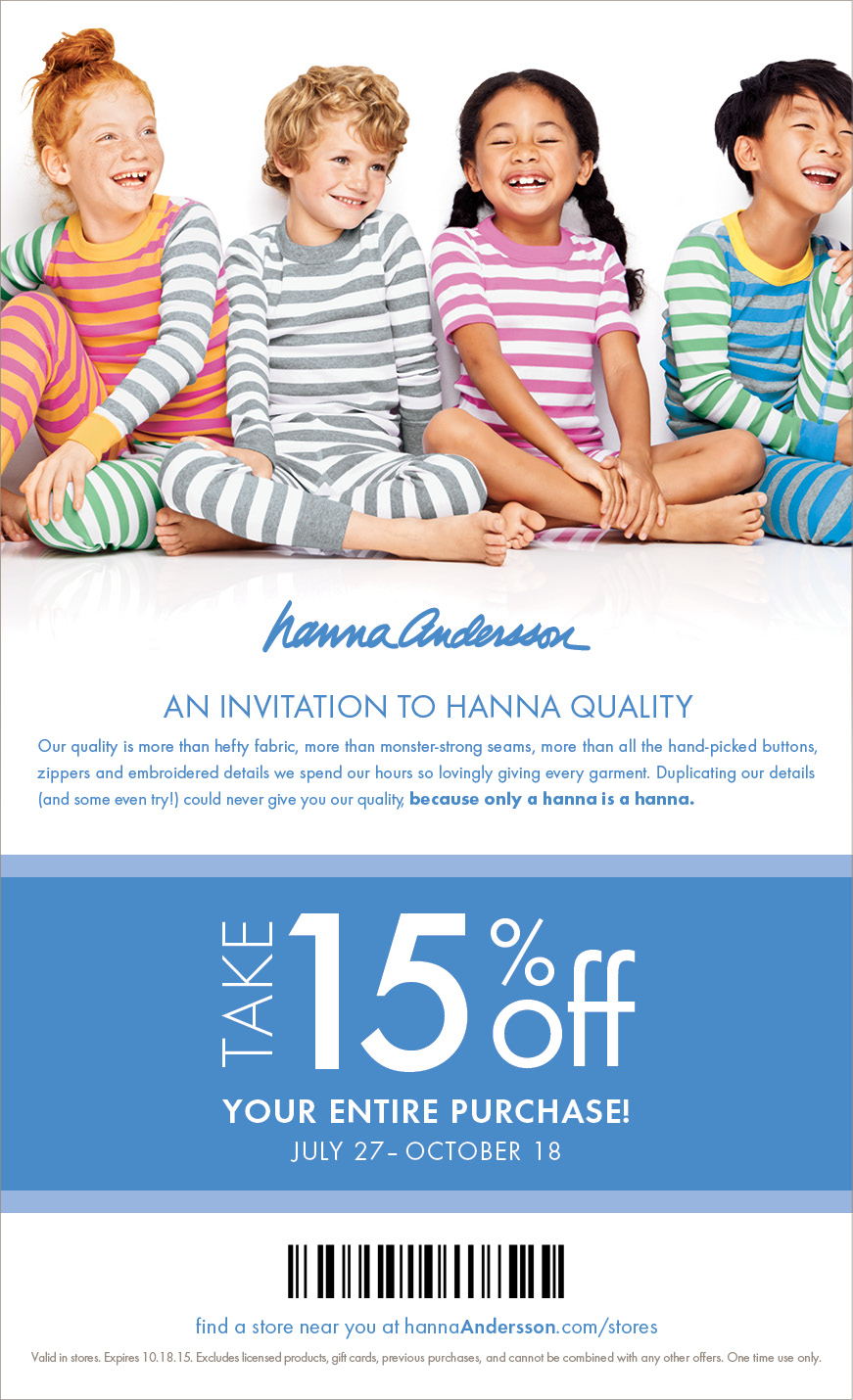 Hanna andersson coupon code free shipping