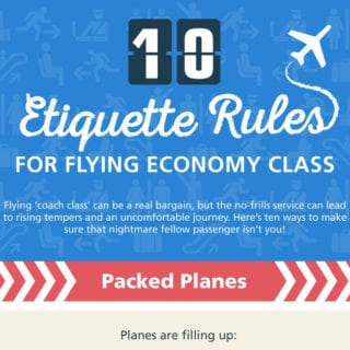 10 Etiquette Rules for Flying Economy Class