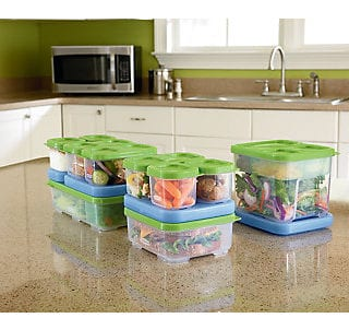 Rubbermaid Lunchblox Food Containers