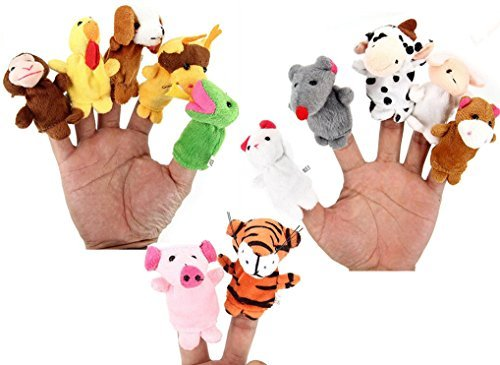 Zodiac finger puppets new