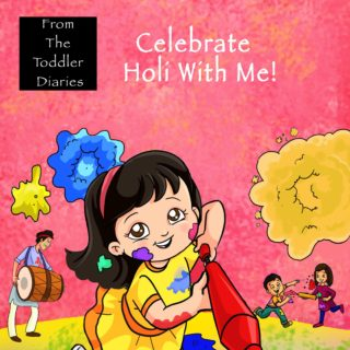 Celebrate Holi With Me! Picture Book