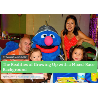 NY Metro Parents Magazine Interviews Bicultural Mama on Mixed Race Families