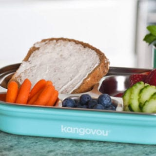 Kangovou Eco-Friendly Stainless Steel Kids Dishware #GIVEAWAY