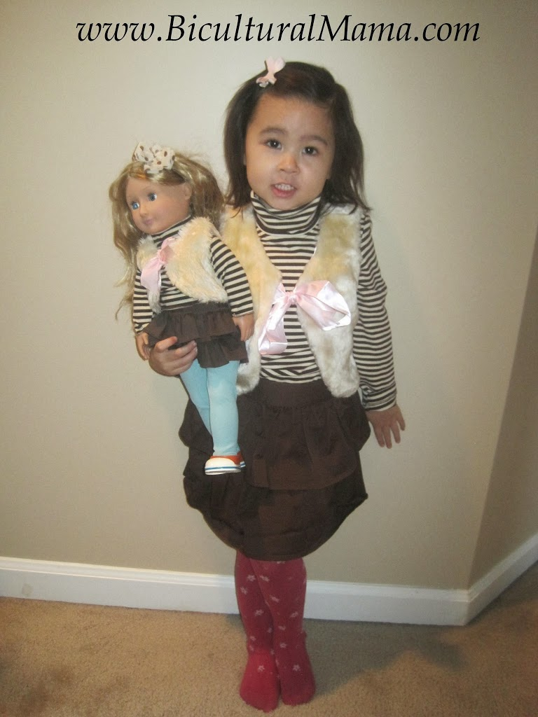f799457eeb Our Generation Launches Matching Outfits for Girls and Dolls | Bicultural  Mama®