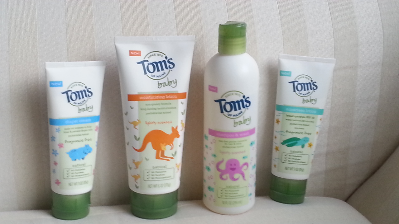 Tom S Of Maine New Baby Products Perfect For The Natural