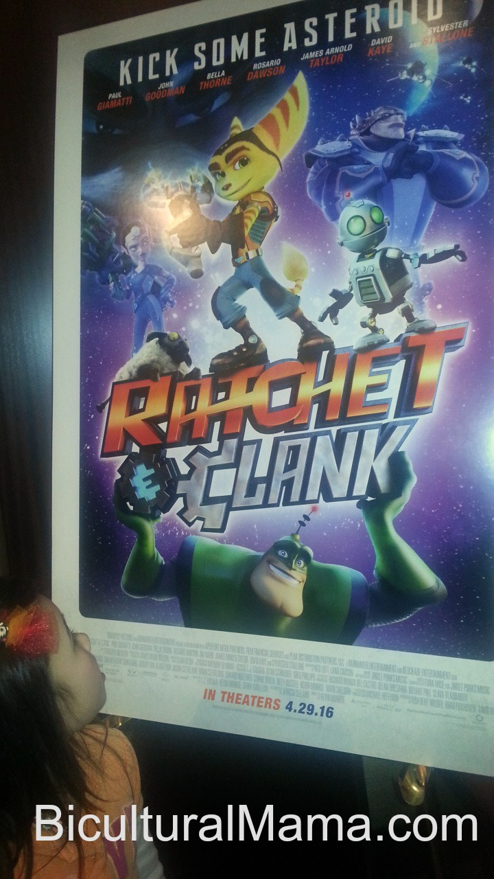From Playstation To Theaters Ratchet Clank Movie Provides 3d Entertainment For Kids Ratchetandclankmovie Bicultural Mama